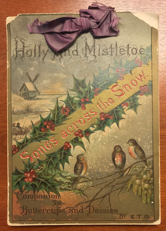 Holly and Mistletoe cover