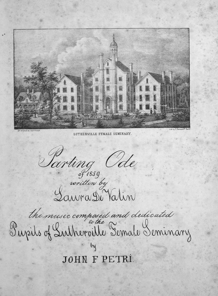Parting Ode, 1859