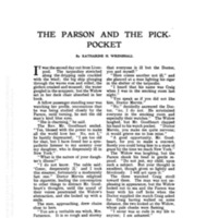Parson and the Pick-Pocket, The
