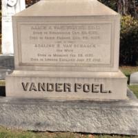 Vanderpoel, Adaline--Mrs. Aaron J.