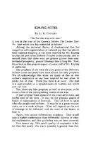 Kipling Notes