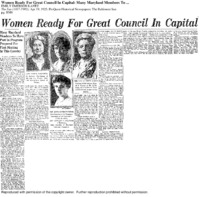Women ready for great council in capital