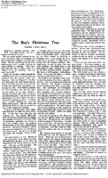 Boy's Christmas Tree, The