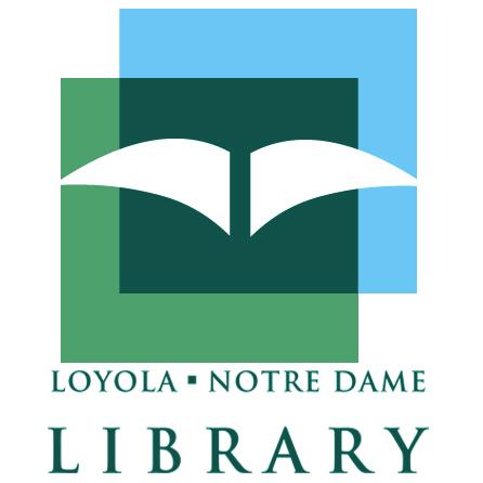 Loyola Notre Dame Library Logo